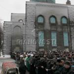 Прощание с муфтием Соборной мечети Санкт-Петербурга Джафаром Пончаевым